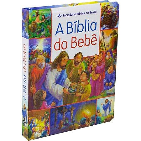 A Bíblia do Bebê - Capa Dura Almofada - Sbb