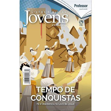Revista Lições Bíblicas Jovens Professor 2º Trimestre 2020