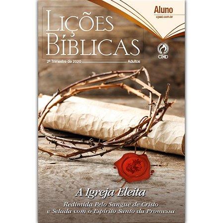 Revista Lições Bíblicas Adultos Aluno 2º Trimestre 2020 Cpad