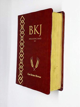 Bíblia De Estudo King James 1611 - Marrom - BV Books