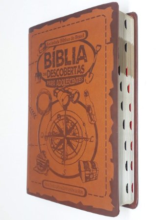 A Bíblia Das Descobertas Para Adolescentes Marrom - Sbb