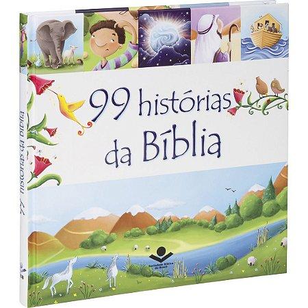 Livro Infantil 99 Histórias da Bíblia - Sbb