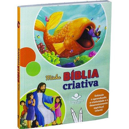 Livro Infantil Minha Bíblia Criativa - Sbb