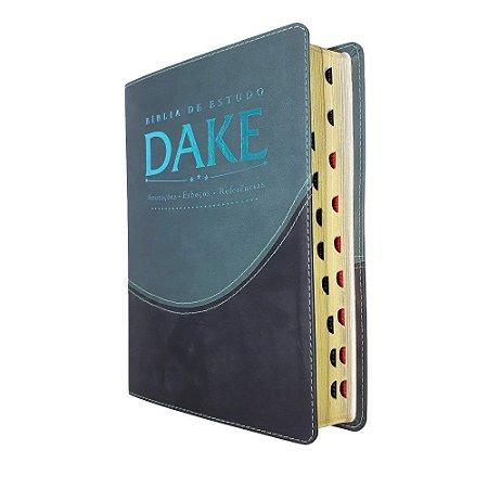 Bíblia de Estudo Dake Com Índice - Verde Com Preto - Atos
