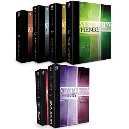 Comentário Bíblico Matthew Henry Obra Completa - Cpad
