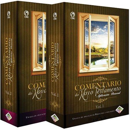 Comentário do Novo Testamento Aplicação Pessoal 2 volumes