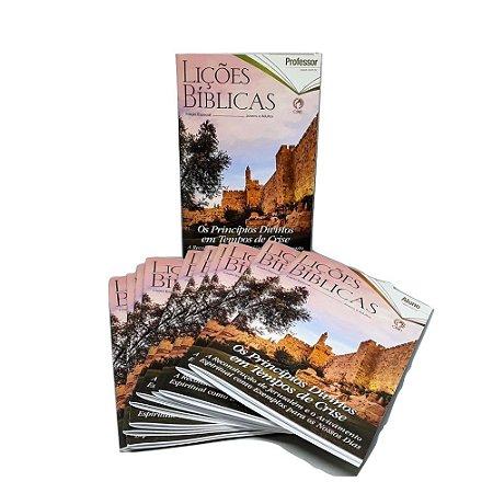 Kit 10 Revista Lições Bíblicas Aluno + 1 Professor - CPAD