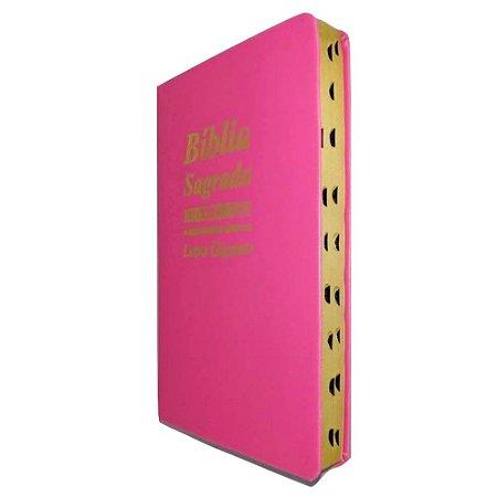 Bíblia Sagrada Para Evangelização - PINK
