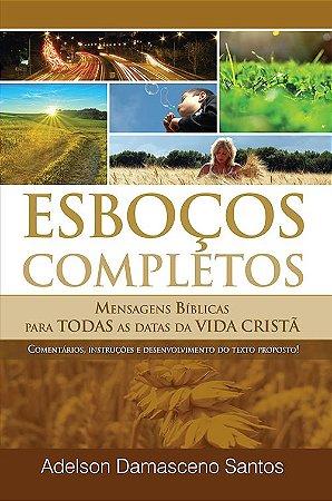 Livro De Esboços Completos - Adelson Damasceno - AdSantos