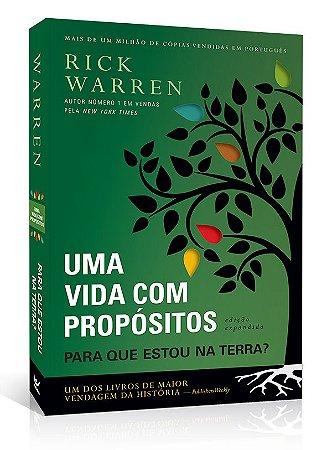 Livro Uma Vida Com Propósito - Rick Warren - Vida