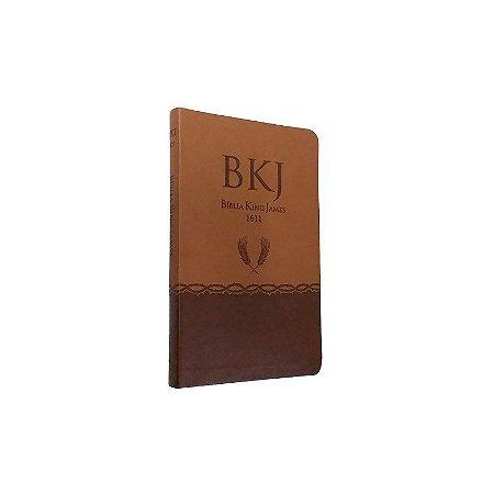 Bíblia King James Fiel 1611 - COM Índice Ultrafina Marrom - Bv Books