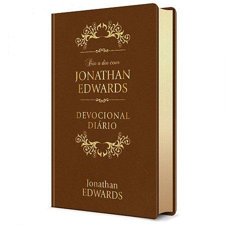 Livro Dia a Dia com Jonathan Edwards - Luxo Marrom