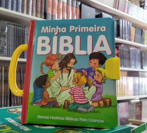 Bíblia Infantil Minha Primeira Bíblia Capa Dura - Cpad