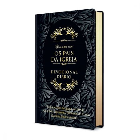 Livro Dia a Dia com os Pais da Igreja  - Capa Luxo Couro - Pão Diário