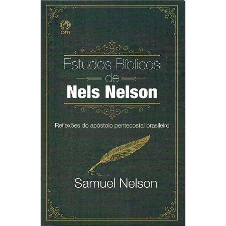 Livro Estudos Bíblicos De Nels Nelson - Samuel Nelson - CPAD