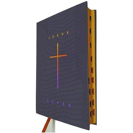Bíblia Sagrada Jesus Saves Cruz- SBB