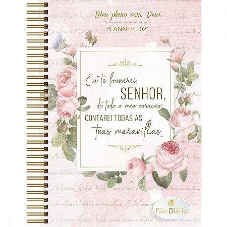Planner Meu Plano Com Deus  2021