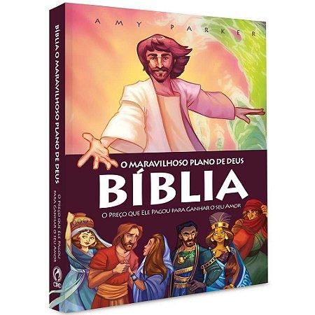 Bíblia Infantil O Maravilhoso Plano De Deus Amay Parker Cpad