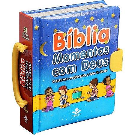 Bíblia Infantil Momentos Com Deus - Sbb