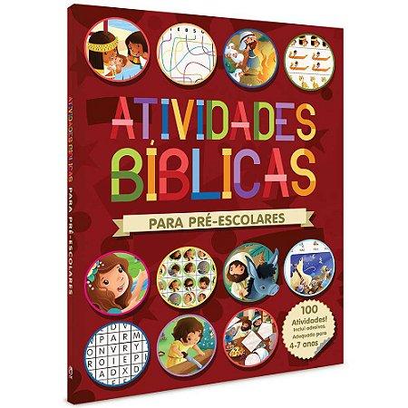 Livro de Atividades Bíblicas Para Pré-Escolares - Cpad