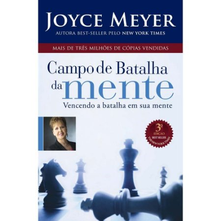 Livro Campo De Batalha Da Mente  - Joyce Meyer