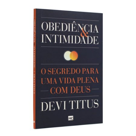 Livro Obediência e Intimidade - Devi Titus Mundo Cristão