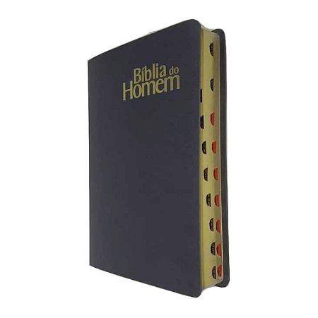 Bíblia do Homem NVI Luxo - Preta