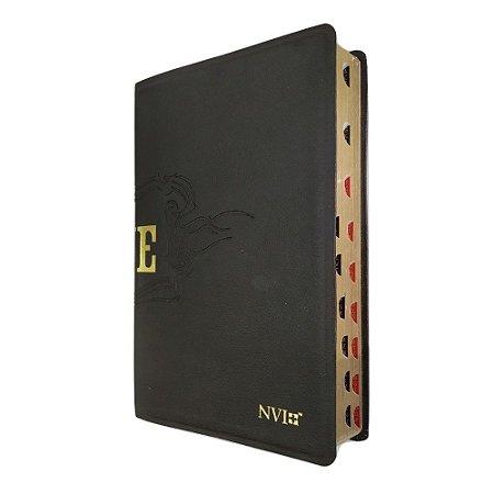 Bíblia de Estudo Live - Capa Luxo Preta - Geográfica