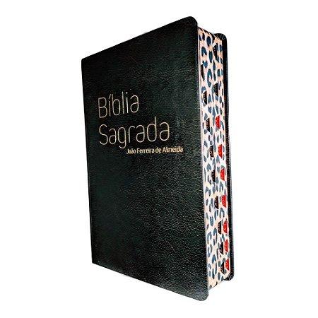 Bíblia RC Letra Gigante Capa Especial - Lateral Onça