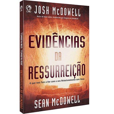 Livro Evidências da Ressurreição - Josh McDowell - CPAD