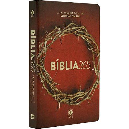 Bíblia Sagrada 365 Coroa - Mundo Cristão