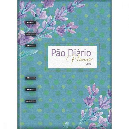 Pão Diário Planner 2021 - Capa Azul