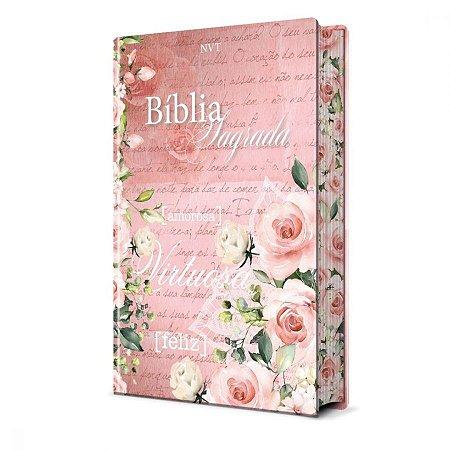 Bíblia Sagrada Mulher Virtuosa NVT - Pão Diário