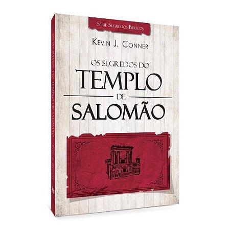 Livro Os Segredos do Templo de Salomão Kevin J. Conner ATOS