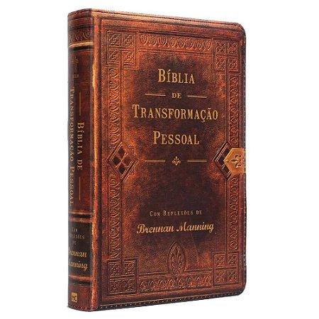 Bíblia Transformação Pessoal Média Letra Normal Com Índice
