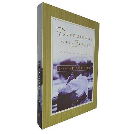 Livro Devocional Para Casais Jaime E Judith Kemp Capa Dura