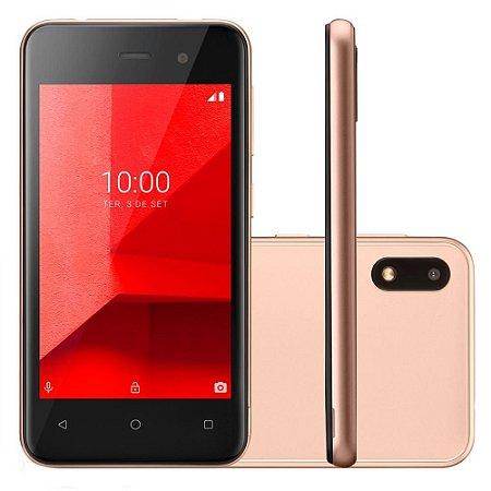 SMARTPHONE MULTILASER E 3G 32GB 5.0P ANDROID 8.1 5MP DOURADO
