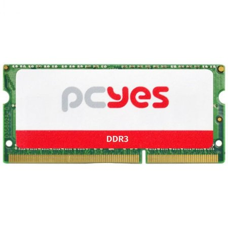 MEMORIA P/ NOTEBOOK PCYES 8GB DDR3 1.5V PM081600D3SO 1600MHZ