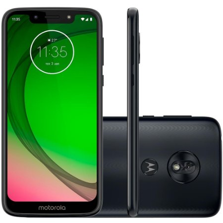 "SMARTPHONE MOTOROLA G7 PLAY 32GB 13MP 5.7"" ANDROID 9.0 INDIGO"