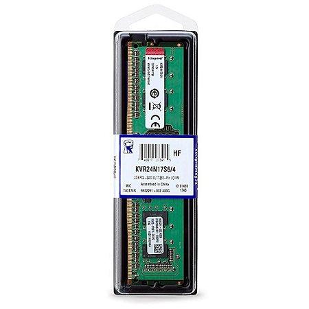 MEMORIA KINGSTON PARA DESKTOP 4GB DDR4 2400MHz