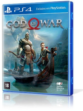 JOGO GOD OF WAR PS4