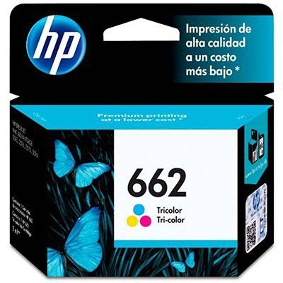 CARTUCHO DE TINTA CZ104AB HP 662 COLORIDO
