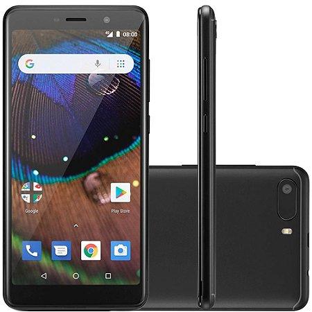 "SMARTPHONE MULTILASER ANDROID MS50X 16GB 8MP 5.5"" PRETO"