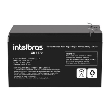BATERIA INTELBRAS VRLA P/ NOBREAK XB1270 12V.7AH