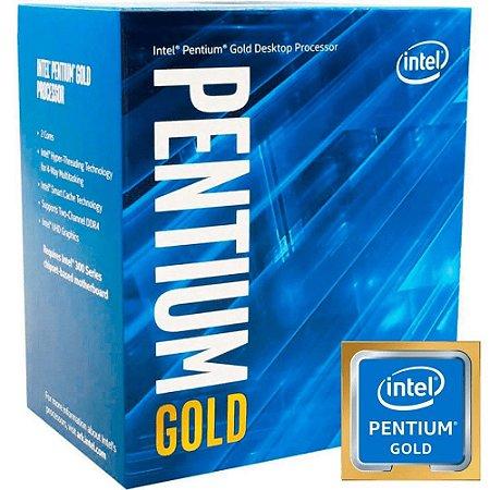 PROCESSADOR INTEL PENTIUM GOLD G5420 3.80GHz LGA 1151 4MB CACHE  BX80684G5420 ACOMPANHA COOLER