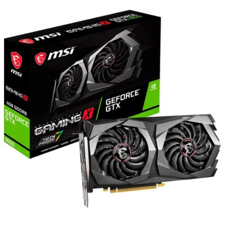 PLACA DE VIDEO MSI NVIDIA GEFORCE GAMING X GTX 1650 D6 4GB GDDR6