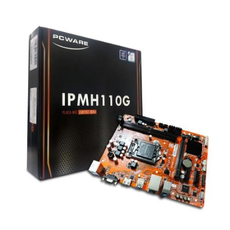 PLACA MAE PCWARE IPMH110G LGA 1151 6ª/7ª ATX DDR4 HDMI/VGA
