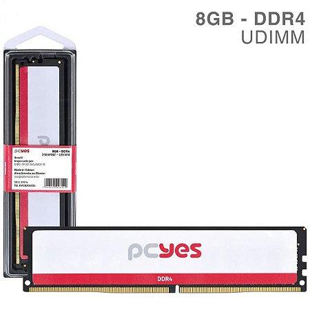 MEMORIA P/ DESKTOP PCYES 8GB DDR4 1.2V PM082666D4 2666MHZ