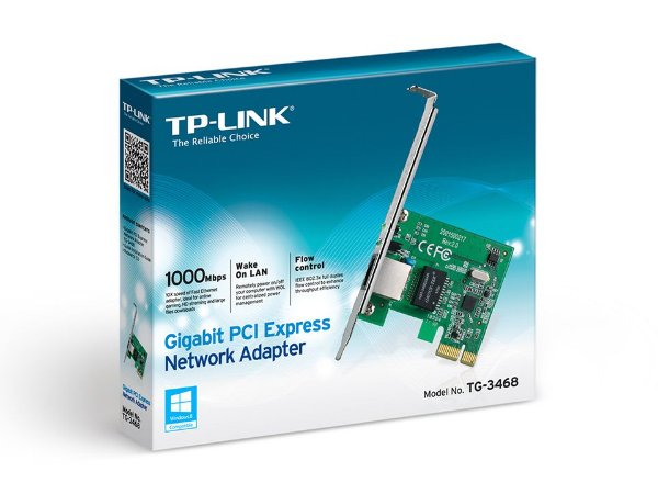 PLACA DE REDE TP-LINK GIGABIT PCI-E 1LAN TG3468