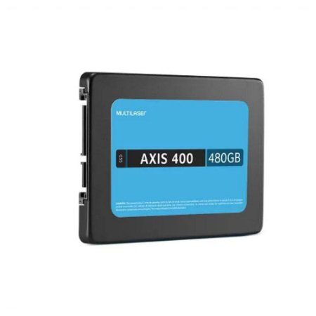 DISCO INTERNO SSD AXIS 400 MULTILASER 480GB 2.5 SATA 400MBPS